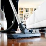 housekeeping-cleaning the floor