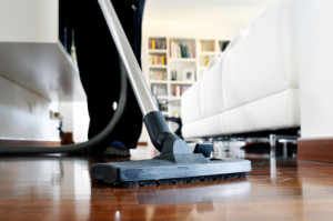 housekeeping-cleaning the floor