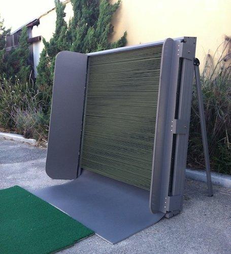 swing box indoor outdoor golf practice net