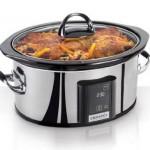 Crock-Pot SCVT650-PS Programmable Touchscreen Slow Cooker