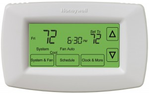 Honeywell RTH-7600D Touchscreen Programmable Thermostat