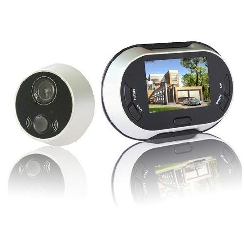 3.5 Inch 170 Degrees Wide Angle Peephole TFT LCD Digital Door Viewer  Doorbell Security Camera Cam