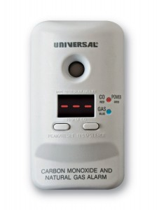 Universal Security Instruments MCND401B M Series Plug-In Carbon Monoxide and Natural Gas Alarm