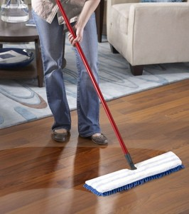 How to maintain hardwood floors