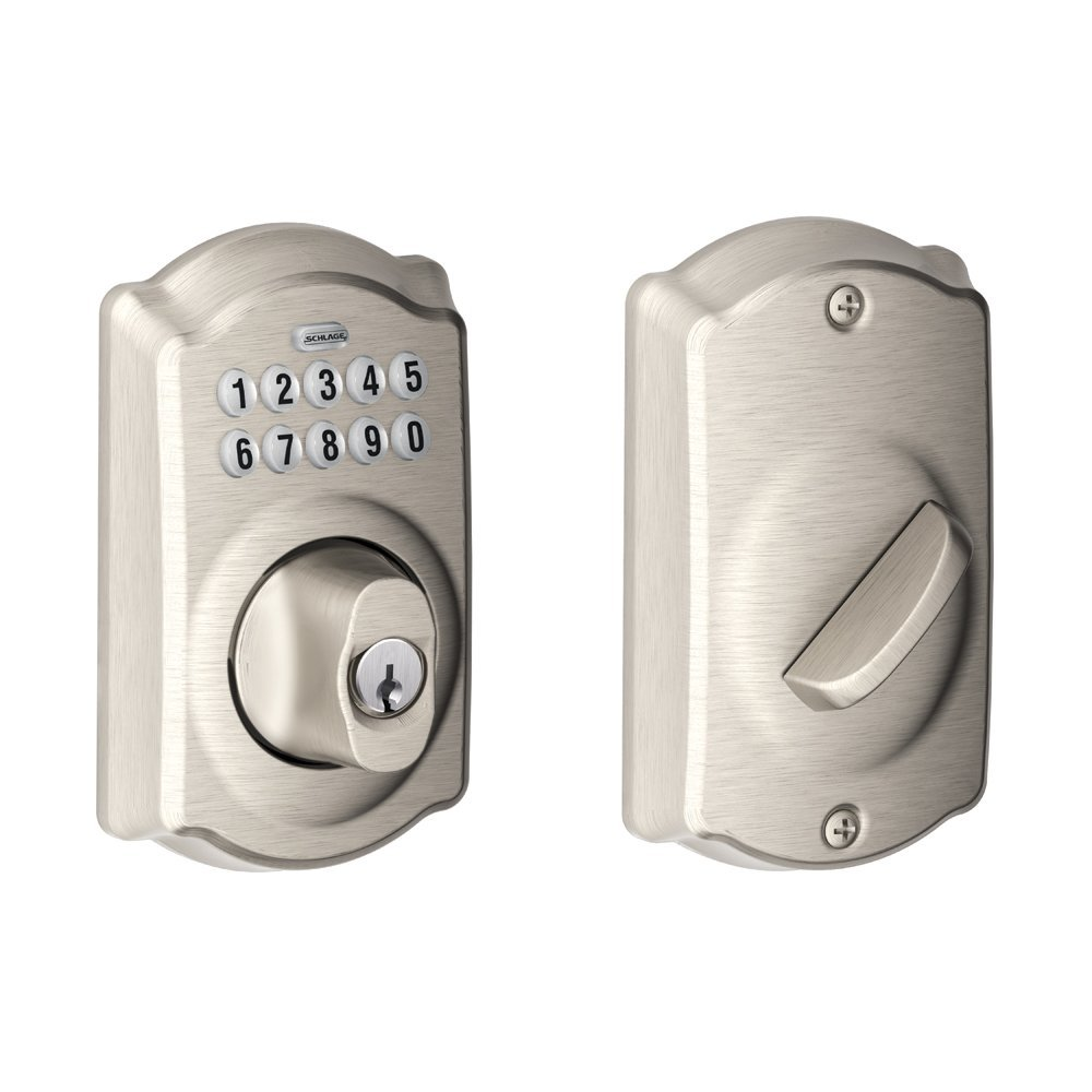 Schlage Camelot keyless deadbolt review